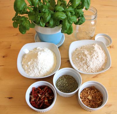 Zutaten für Brotbackmischung 'Dolce Vita'