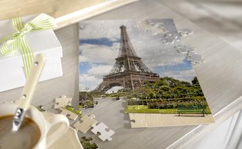 Geschenk für Auswanderer Foto-Puzzle