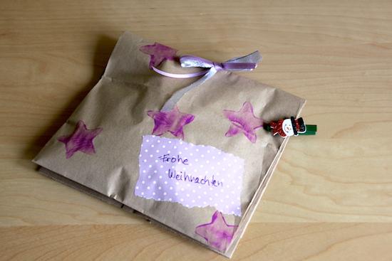 Geschenk verpacken 'Wundertüte'