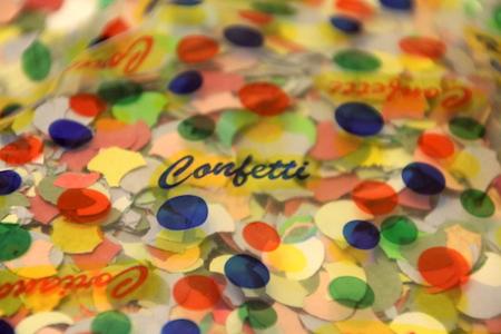 Karneval-Konfetti