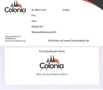Colonia Aktiv Geschenkgutschein
