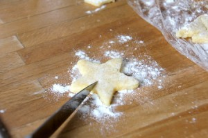 Mitbringsel: Kekse mit Ausbuchtung