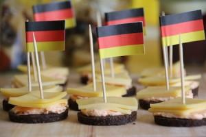 Pumpernikel-Party-Snack