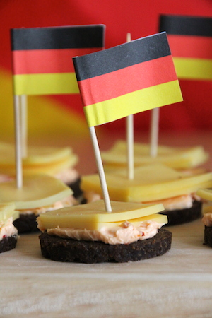 Pumpernikel-Snack zur WM