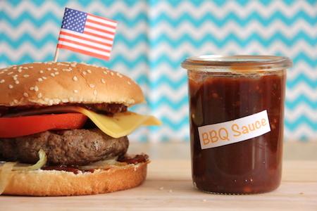 BBQ Burger selbstgemacht