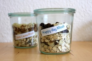 happy day muesli mix selber machen