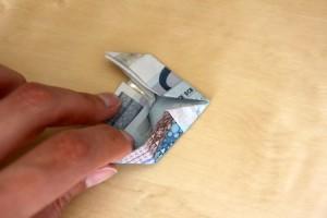 geldschein zu fisch falten 12