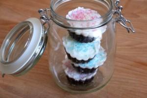 Cupcake Duschpeeling selbermachen