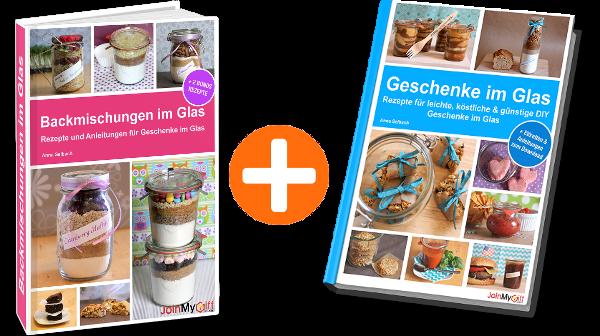 E-Book Paket Geschenke im Glas Backmischungen im Glas