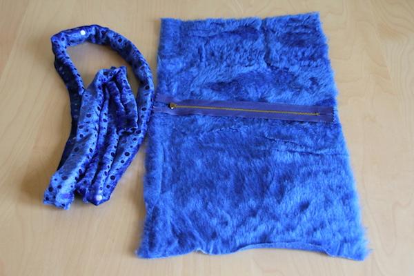 Cookie Monster Tasche selber nähen