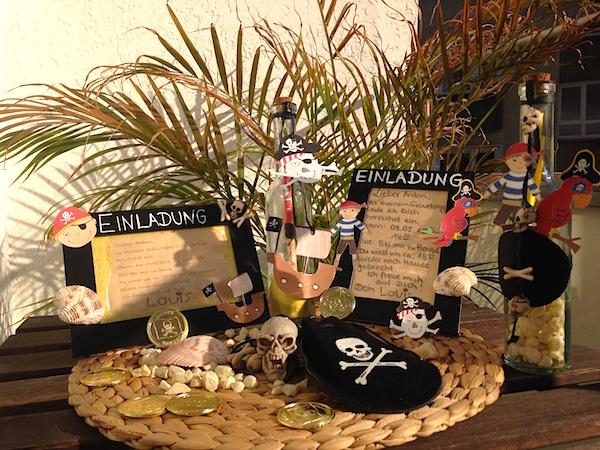 Einladungen Piraten im Überblick
