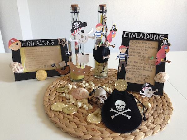 kindergeburtstag piraten einladung vorlagen. Black Bedroom Furniture Sets. Home Design Ideas