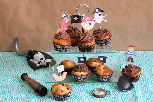 Piraten Cupcakes Rezept