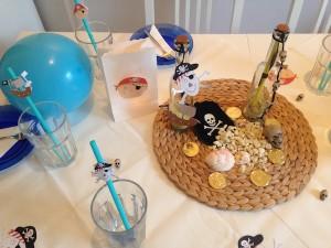 Piraten-Kindergeburtstag: 3 Ideen für die Tischdekoration ...