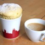 Joghurt Mug Cake: 5 Minuten Kuchen aus der Mikrowelle