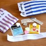 Mini Notfall Hangover Kits für Hochzeitsgäste