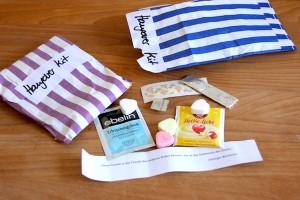 Mini Notfall Hang-over kit für den Tag nach der Hochzeit