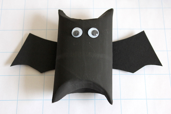 Fledermaus Gastgeschenk upcycling