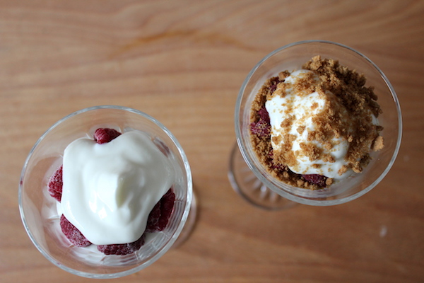 Himbeer Spekulatius Dessert Rezept