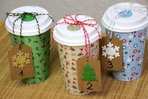 Adventskalender Basteln Aus Coffee To Go Bechern Joinmygift Blog