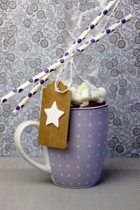 """Heiße Schokolade mit Mini-Marshmallows Mix"" selber machen"