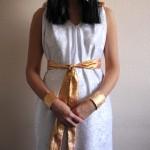 Kleopatra Kostüm für Karneval nähen – für Nähanfänger