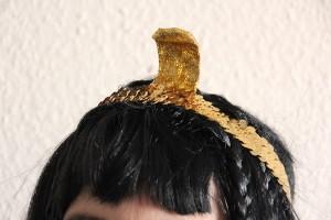 Kleopatra Kopfschmuck selber machen