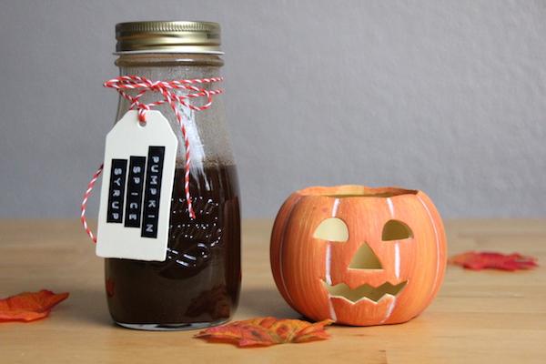Pumpkin Spice Sirup selber machen