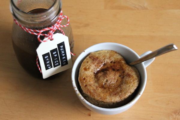 Kürbis Nuss Tassenkuchen Rezept
