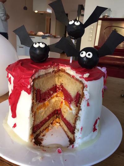 Vampir Torte selber machen