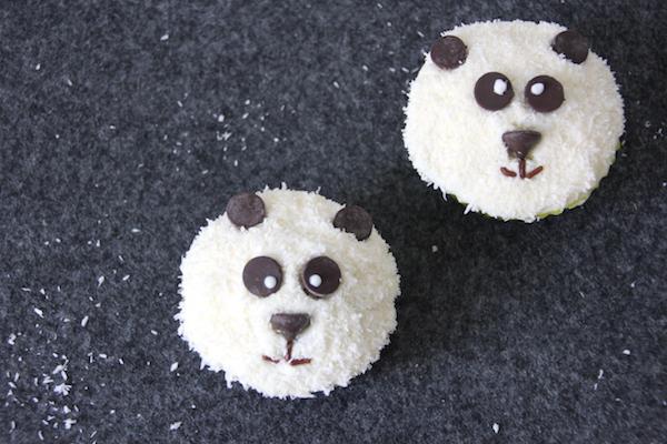 Panda Muffins selber machen