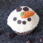 Schneemann Muffins Rezept für Kinder