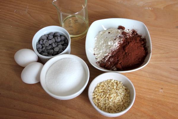 Brownie Teig für Brookies Rezept Zutaten