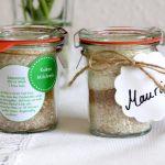 Kokos Milchreis im Glas - Gastgeschenke für die Vintage Hochzeit