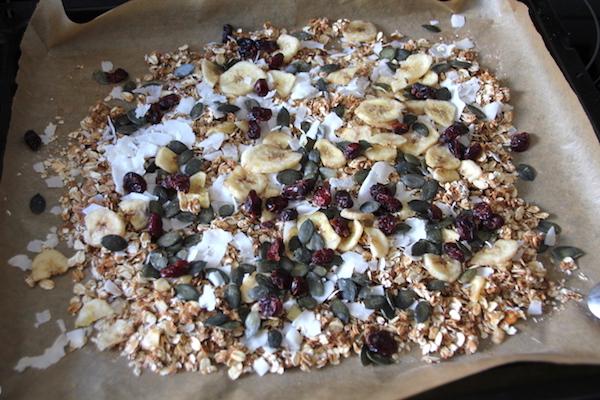 Afrikanisches Granola Müsli selber machen