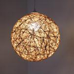 DIY Fadenlampe - Anleitung für einen Lampenschirm aus Paketschnur