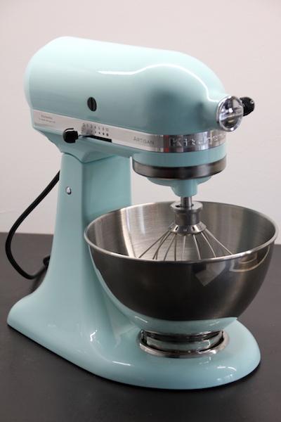 kitchenAid Artisan Eisblau