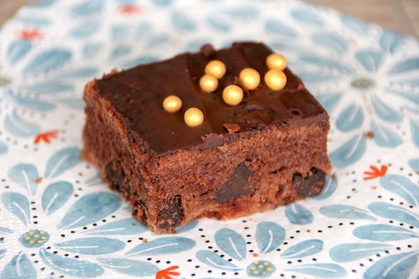 Rezept für Whisky Kuchen mit Schokolade